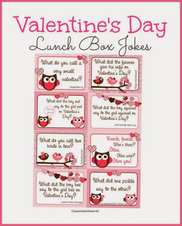 http://www.couponsaregreat.net/printable-valentines-day-lunch-box-notes-using-valentines-jokes-kids/