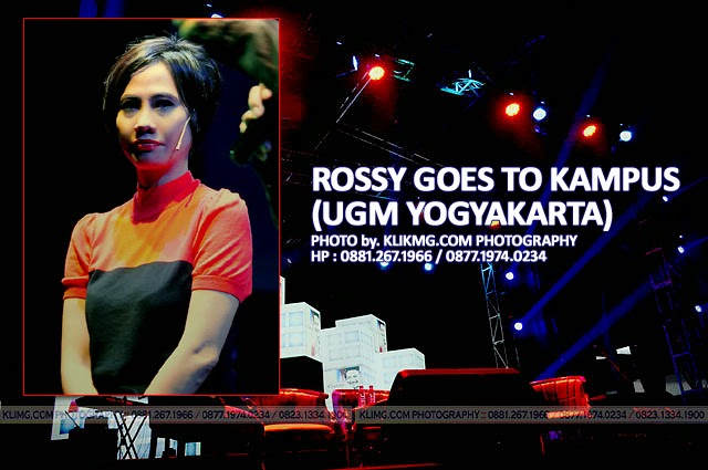 ROSSY GOES TO CAMPUS UGM