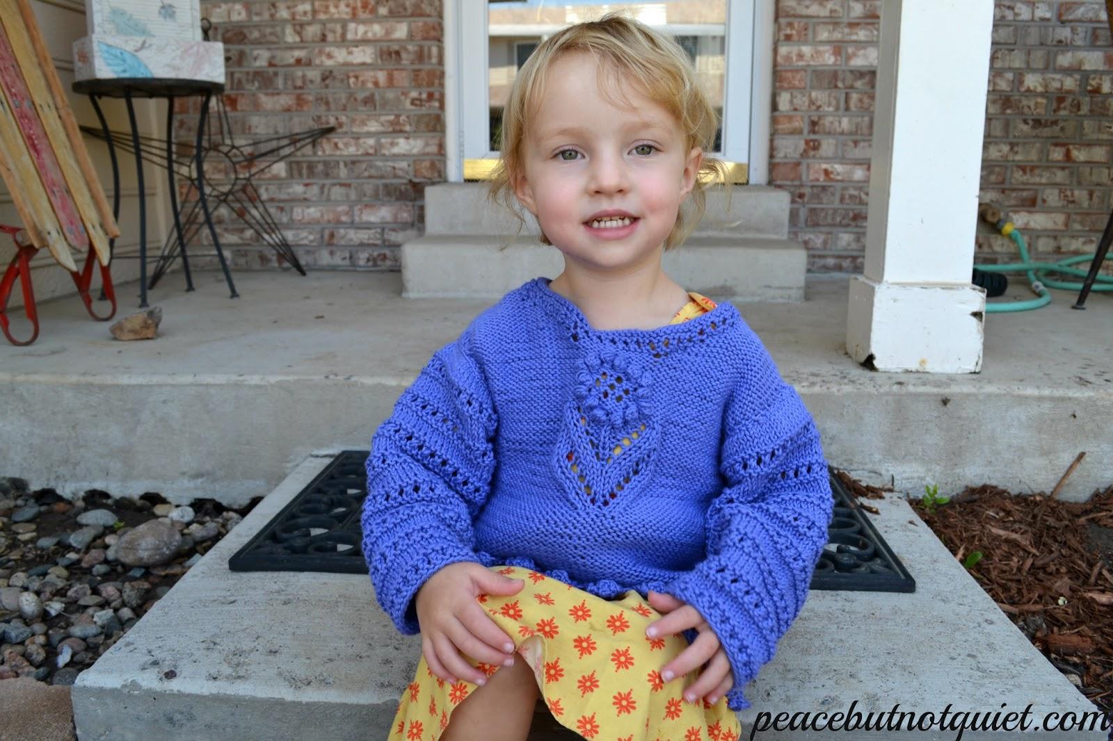 Knit Lacy Sweater Pattern
