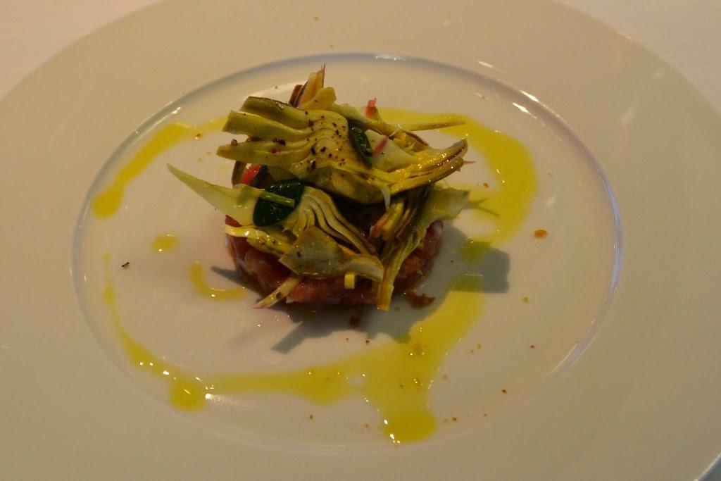 Restaurant Quartopiano Rimini tartare