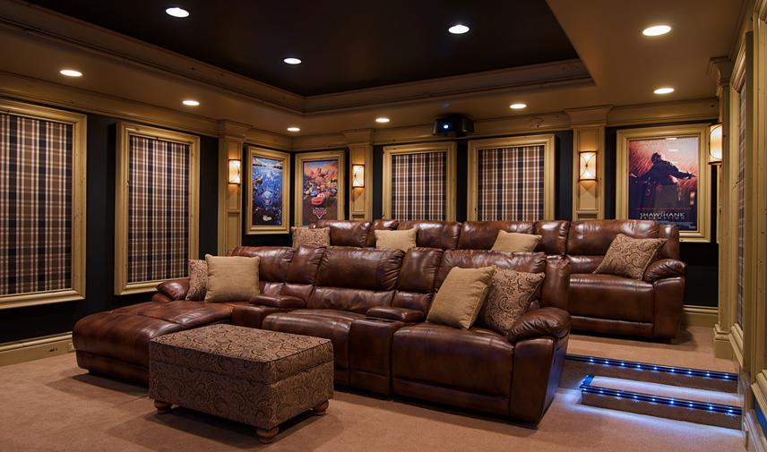 Eliz 39 travel and living private theatre room - Living room home theater ...