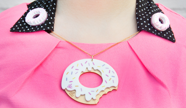 i love crafty, donut bakery, donut jewellery