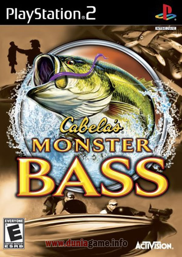 CABELA'S MONSTER BASS PS2 ISO