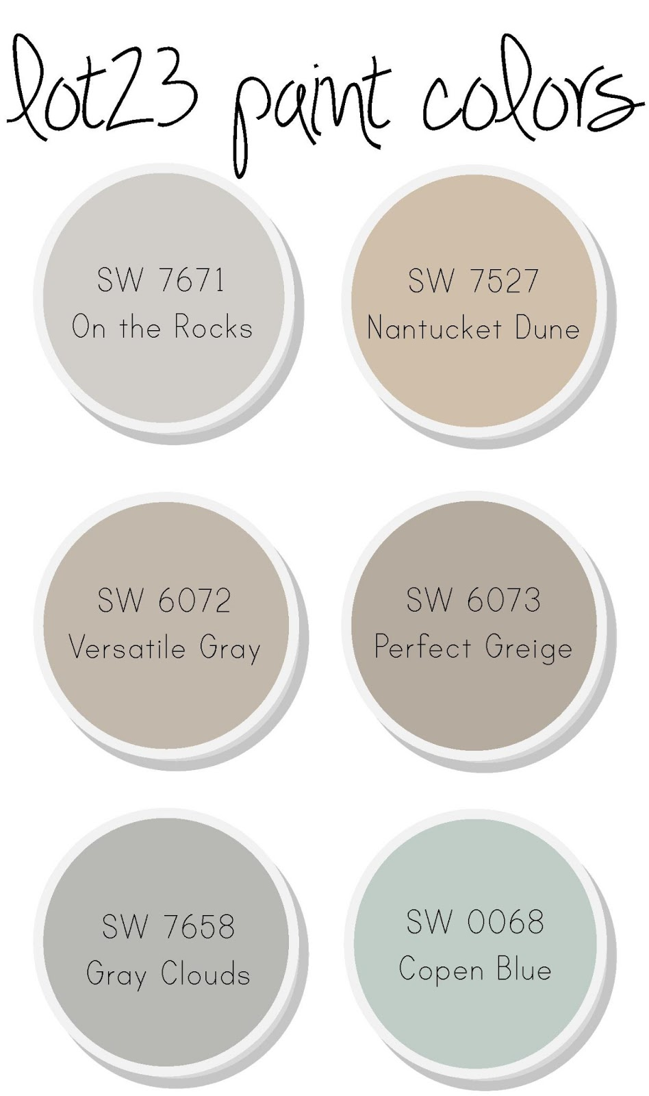 Lot 23 day 152 for Perfect blue grey paint color