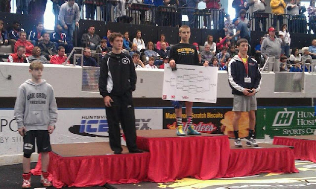 Zachary Van Alst Claims State Title 2