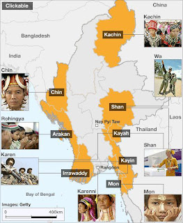 >BBC withdrew controversial Burmese map from their website
