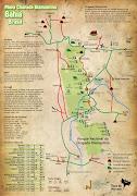 Mapa da Chapada DiamantinaBA (mapa chapada)