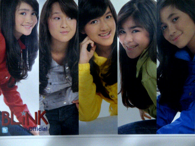 Wallpaper Blink Girl Band Indonesia | Wallpaperholic