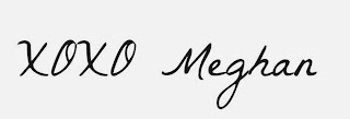 Me as Meghan, blog