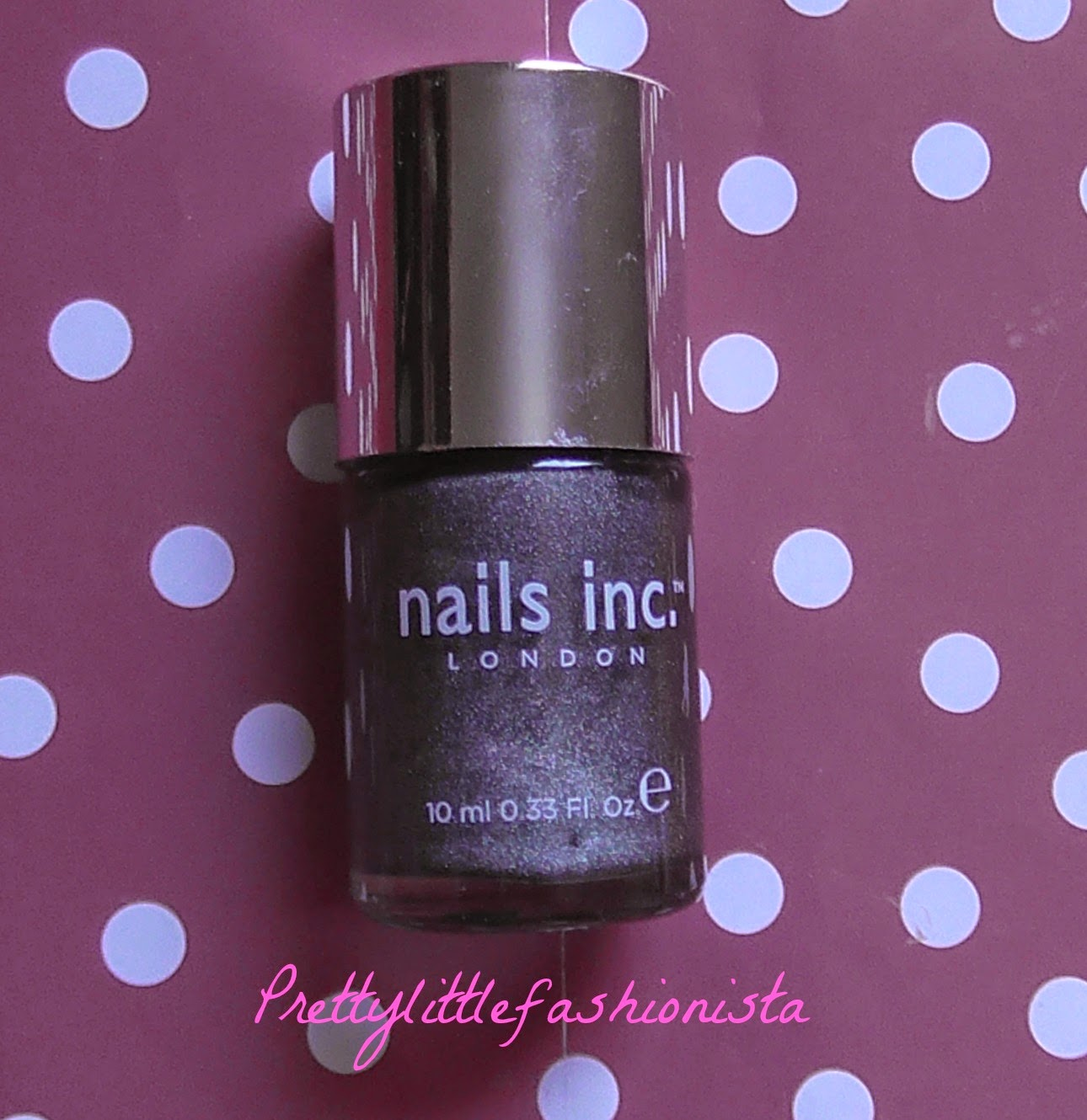 NOTD: Nails Inc Argyll Street
