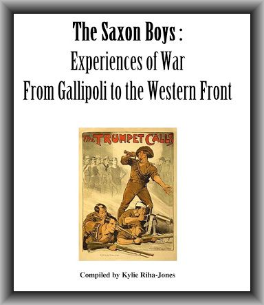 The Saxon boys book by Kylie Riha-Jones
