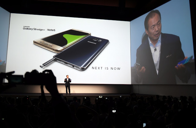 Samsung Galaxy S6 edge+ Event