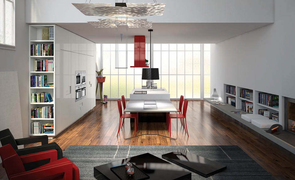 Muebles polifac ticos para cocinas y salas de estar for Muebles carre