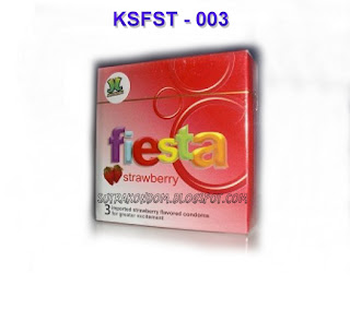 Kondom Sutra Fiesta Strawberry