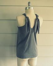 DIY No Sew T-Shirt Halter Dress