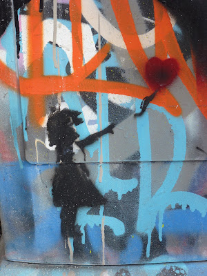 Banksy, Graffiti, Streetart, Urbanart