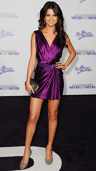 Irina Shabayeva Selena Gomez Dress