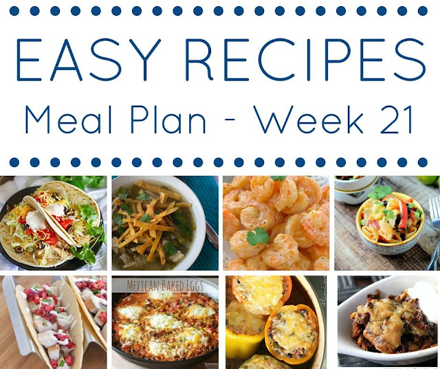 The Easy Dinner Recipes Meal Plan – Week 21