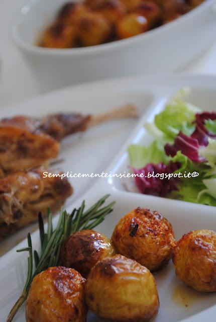Semplicemente insieme patatine novelle al forno - Forno e microonde insieme ...