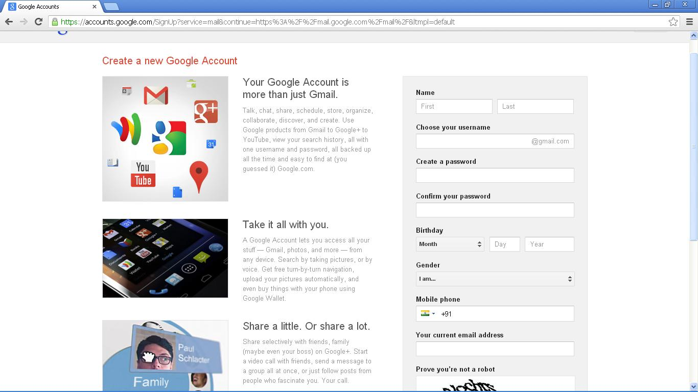 How to create a gmail id google account new 2013 msr info blog