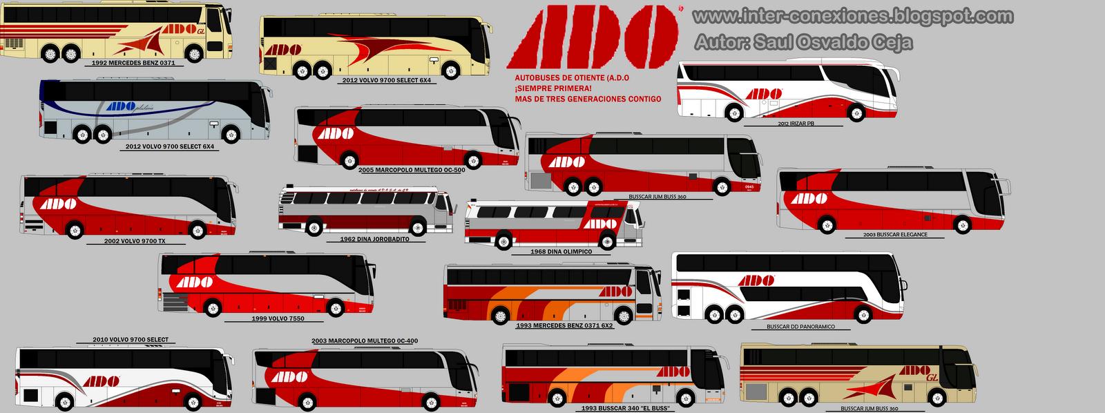 Inter Conexiones Camionera Del Golfo Servicio Ado Gl