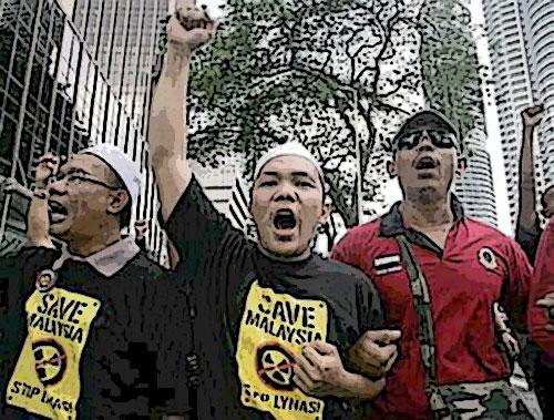 Ayoyo..!! Demo kat Kuantan, bocor kat Selangor ka?