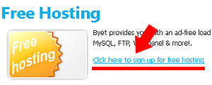 Membuat Website di Byethost dan Setting NS Domain