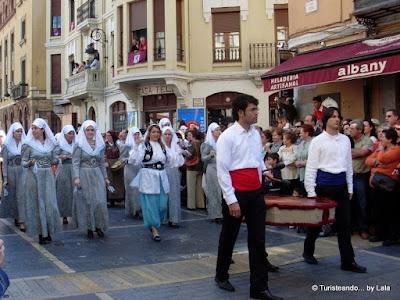 Cantaderas, Fiestas San Froilan, Leon