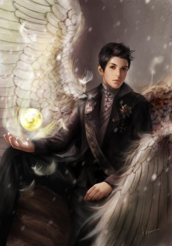 ange+masculin+gothique