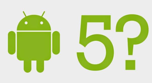 Android 5.0 Güncellemesi Geliyor