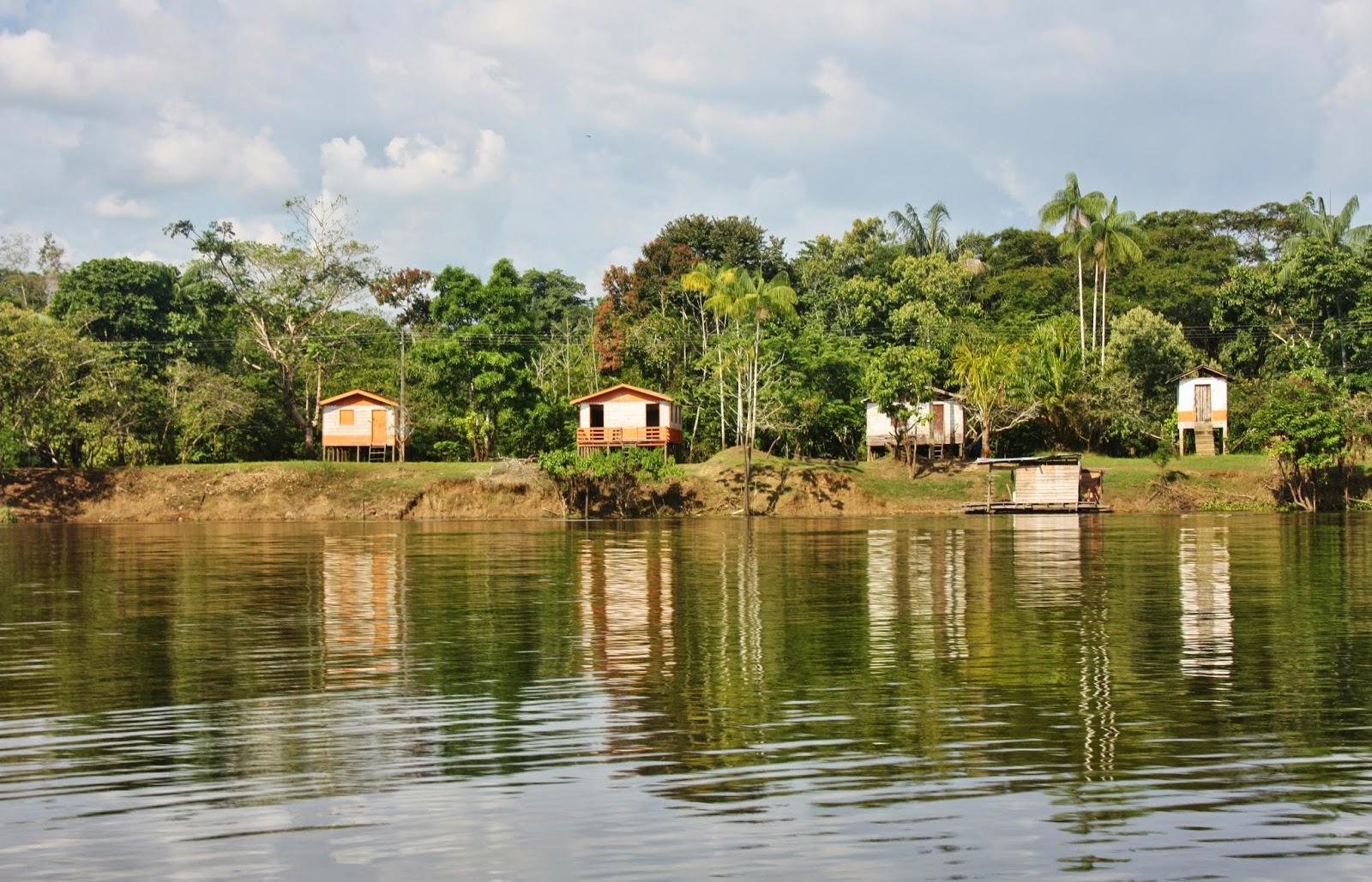 Comunidades ribeirinhas da Reserva Mamirauá