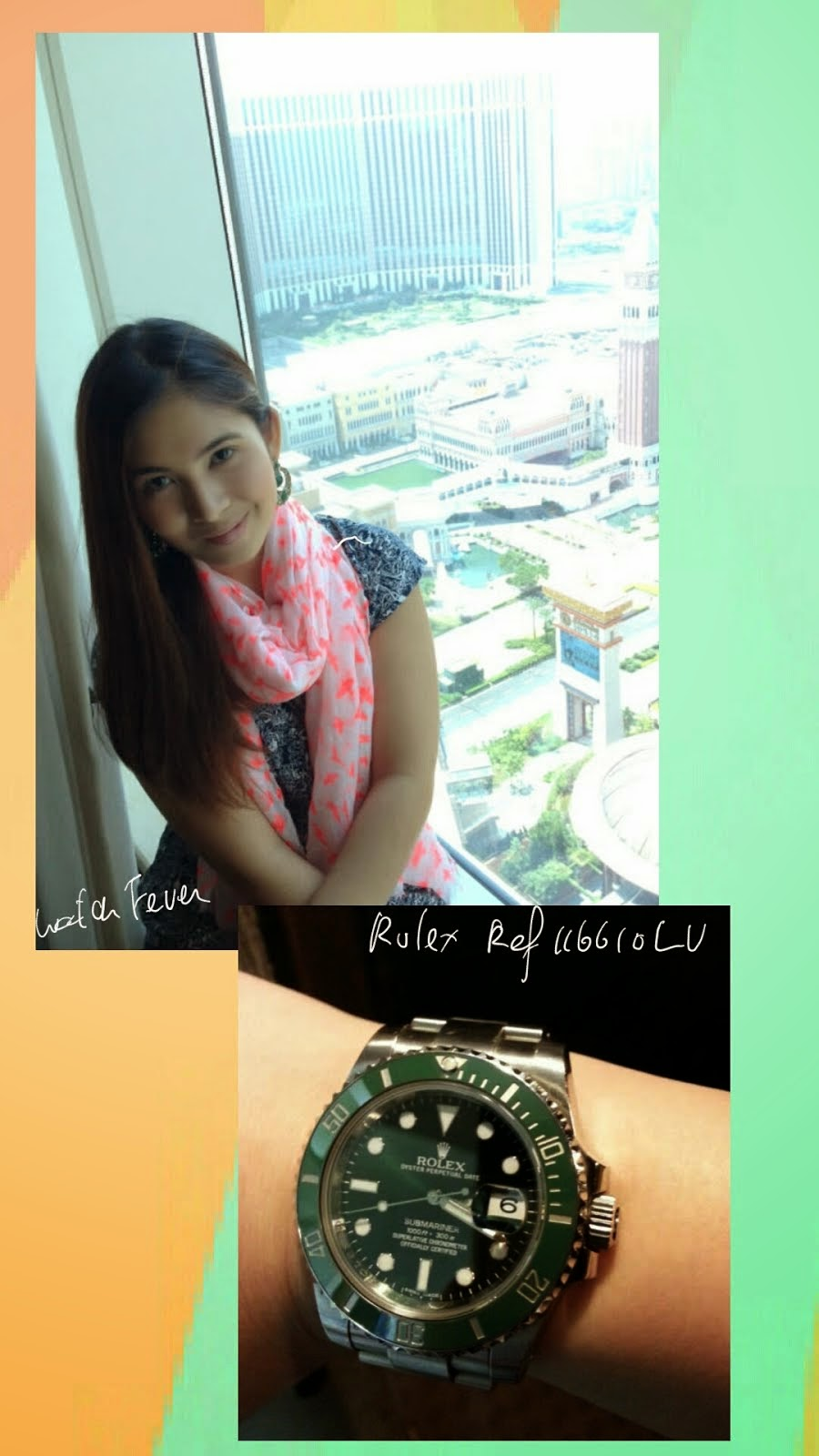 Chi's Pick, a Rolex Submariner 116610LV