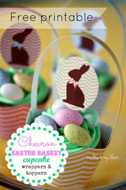 Harris sisters girltalk free easter printables hen centerpiece and chick favors from martha stewart negle Images