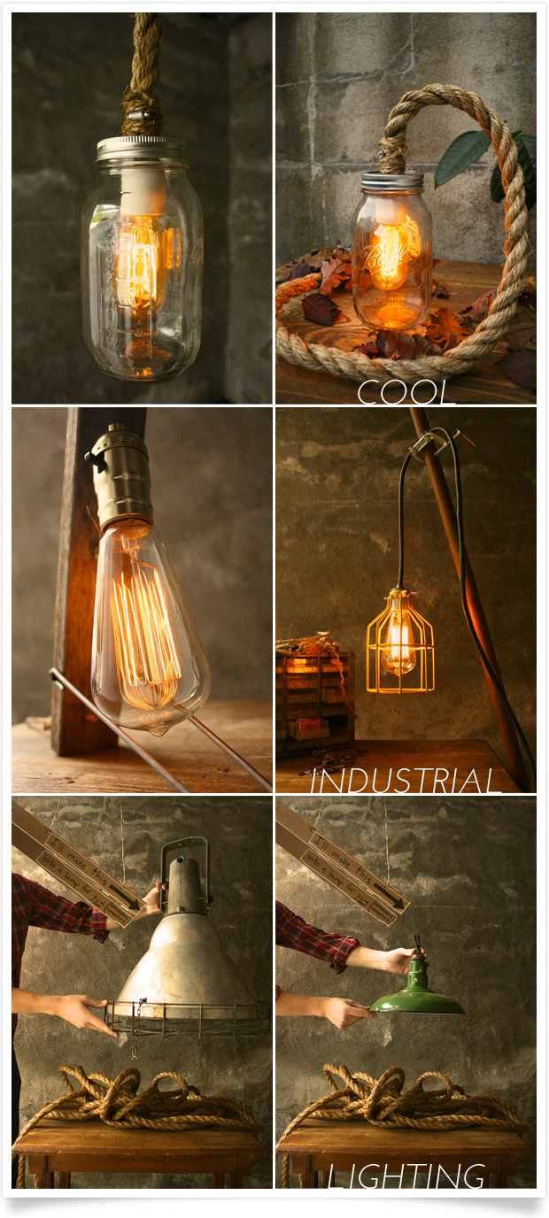 Industrial Lighting by Luke Kelly