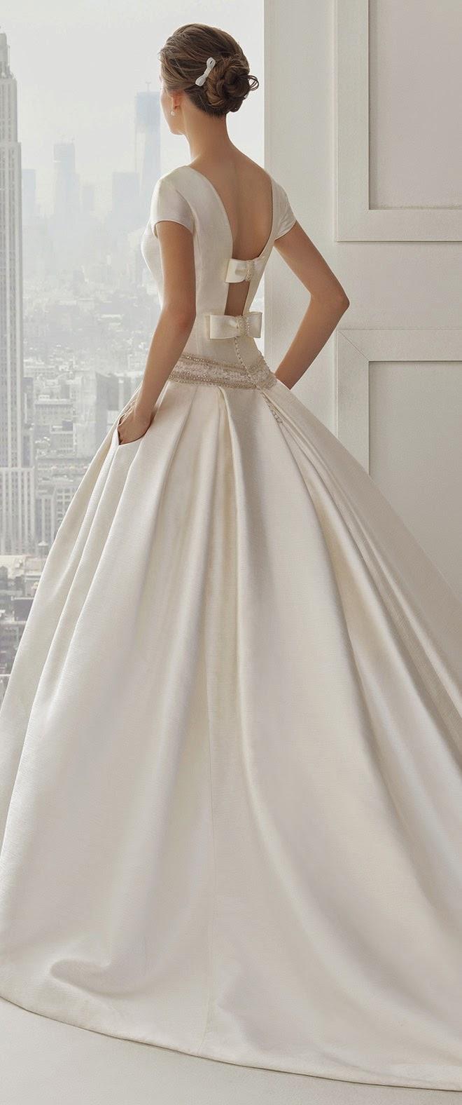 Rosa clara 2015 bridal collection part 2 fashion shared for Wedding dress rosa clara