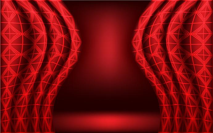 free vector �������� �������� realistic vector curtain