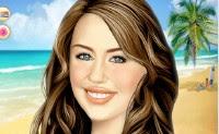 Maquilla a Miley Cirus | Toptenjuegos.blogspot.com