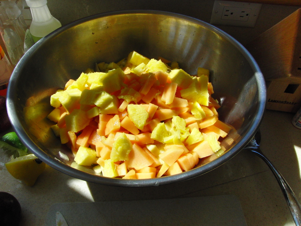 how to keep fruit salad from browning