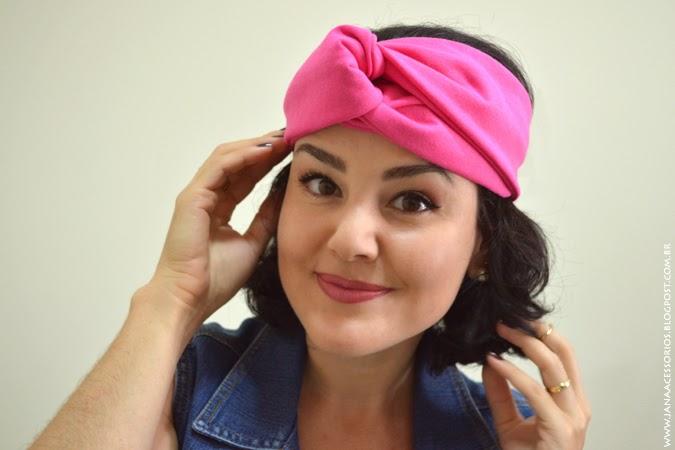 Blog da Jana, Blog de acessórios, acessórios, turbante, Jana Acessórios, Joinville