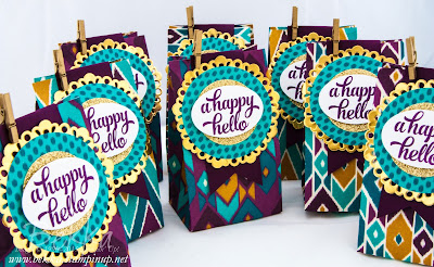 How To Use Your Gift Bag Punch Board From Stampin' Up! UK