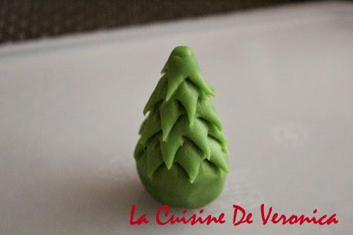 La Cuisine De Veronica 糖膏聖誕樹