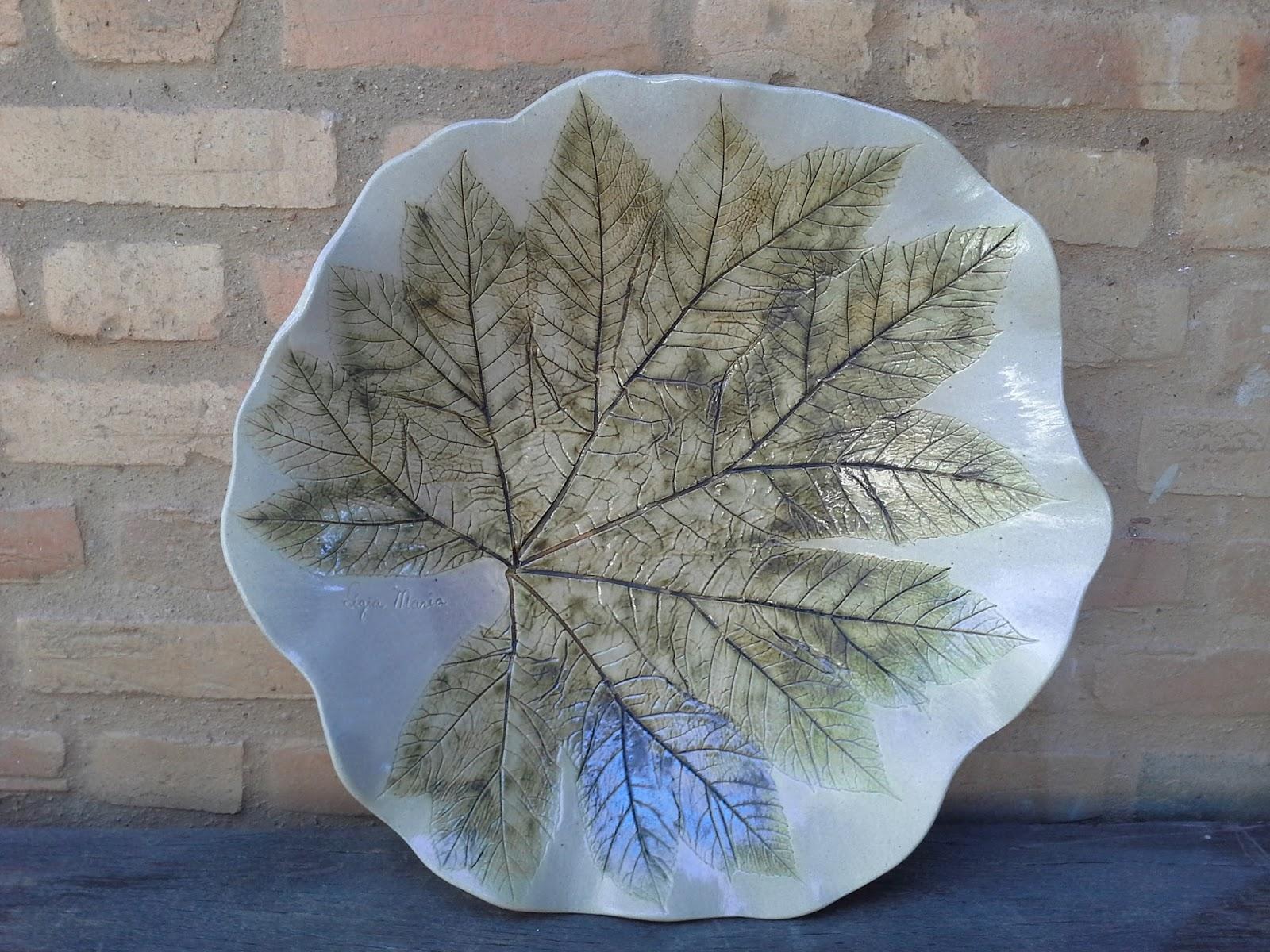 Folha em cer mica vitrifica o com xidos atelier darly for Oxidos para ceramica
