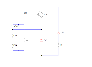 advanced darlington pair circuit diagram delay timer