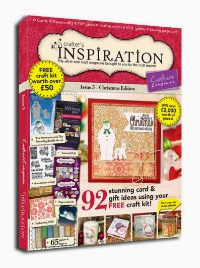 Thrilled to be featured in the Crafter's Companion Inspiration Magazine