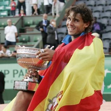 Rafa Nadal tenista español
