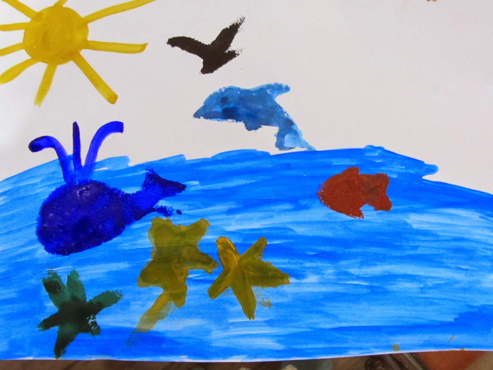 Занятие подводный мир 4