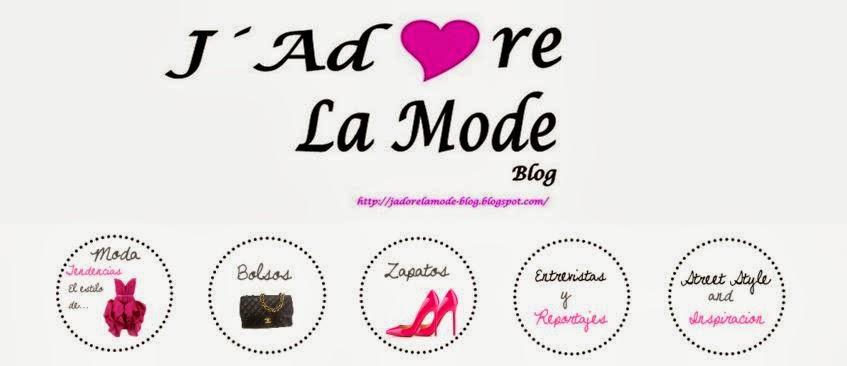 VISITA J´ADORE LA MODE Blog