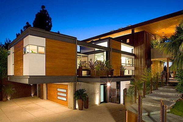 In foto fotos de casas bonitas for Casas modernas hollywood