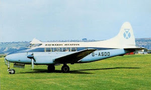 De Havilland  Dove at Portsmouth Airport