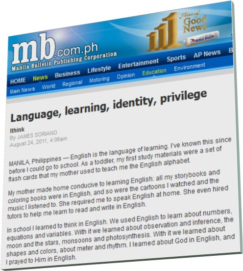 language learning identity privilege by james Situated language and learning looks at the specialist academic varieties of 3 language and identity at james paul gee is mary lou fulton presidential.